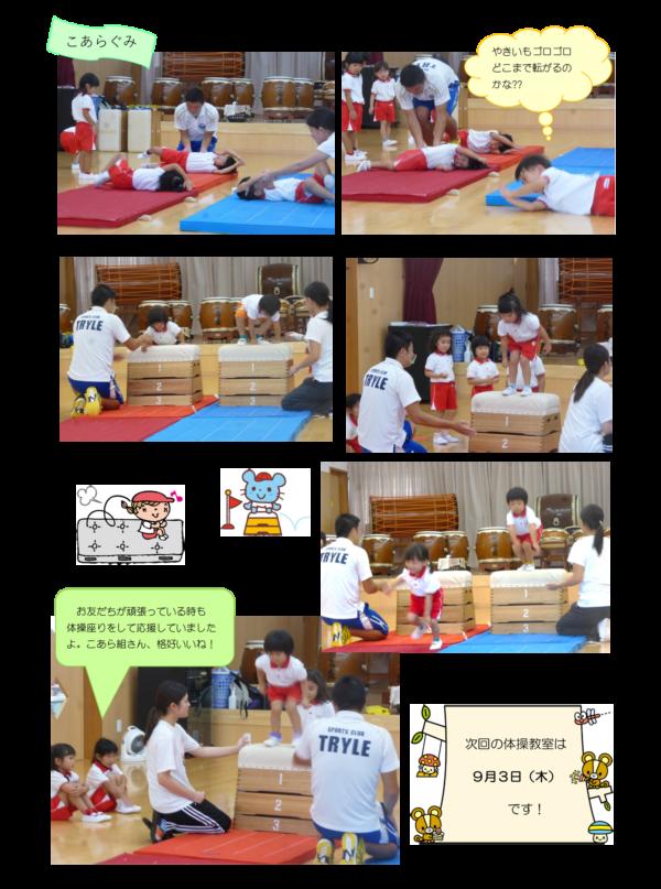 体育指導(8月)-2